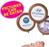 CONF-520-M Chocolate Lollipop with cello bag twist seal