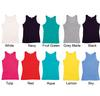 SIL-15 Ladies, American Style Cotton Jersey Singlet (Printed)
