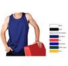 SIM-10 Adults, Colour Premium Pre-Shrunk Cotton Singlet (Printed)