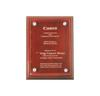 PA-22-SM-DE Rosewood Plaque with Acrylic  (Direct Engrave  - Small)