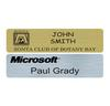 PNB-25 Small Plastic Rectangle Name Badge
