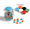 CONF-10-BK Jelly Beans in Clip Lock Jar 80G