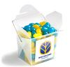 CONF-45 Frosted PP Noodle Box Filled with Jelly Beans 100G