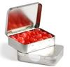 CONF-75 Rectangle Hinge Tin filled with Jelly Beans 65g