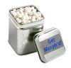 CONF-235 Medium Square Tin filled with Mints